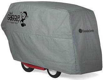 Gaggle Collection 4145259 60 inch  Storage Cover for 4 Passenger Buggy with Water Resistant Feature  Easy to Use and Folds for Compact Storage in