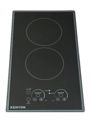 12 inch  Lite-Touch Q Series 240 Volt Electric Cooktop with 2 Elements
