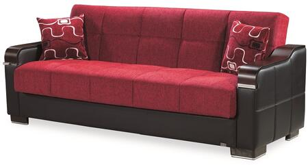 Uptown Collection UPTOWN SOFABED RED 24-581 86
