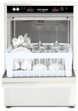 F-16DP High Temperature Undercounter Glass Washer with 58 dBA Noise Level  Insulated Top and Side Panels  Automatic Fill and Water Level Regulation  in