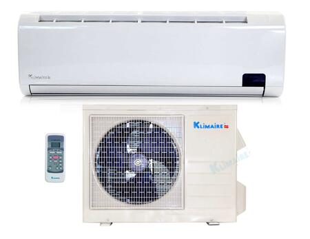 KSIL036-H215 Single Zone Mini Split Air Conditioner with 36 000 BTU Cooling Capacity  Mini Split-Heat Pump  14.5 SEER  Two Directional Air Vane  Active Carbon 497729