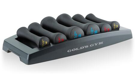 WGGDBK12 Dumbbell Power Set with Pair of 3 lbs  5 lbs  and 8 lbs