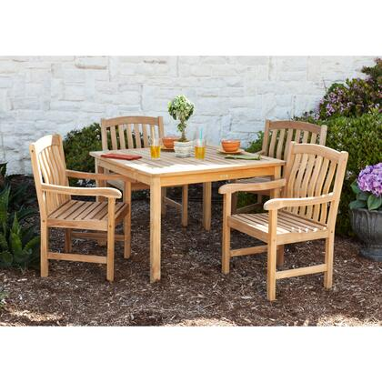 CR7995 Summersby Teak 5pc Dining