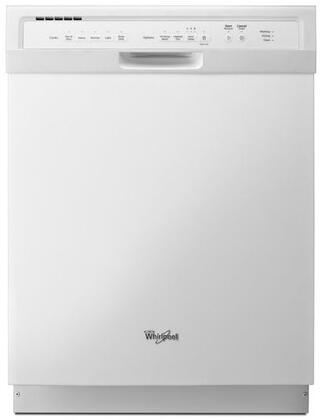 "Whirlpool 24"" Tall Tub Built-In Dishwasher with Stainless Steel Tub White WDF550SAFW"