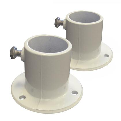 NE1228PR Aluminum Deck Flanges for Above Ground Pool Ladder -