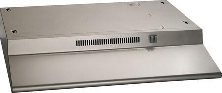 JN328KSA 30 Standard Range Hood with 2 Fan Speed  Recirculating Ventilation  in Silver