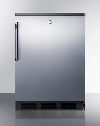 FF7LBLSSTB 24 inch  All Refrigerator with 5.5 cu. ft. Capacity  Automatic Defrost  Factory Installed Lock  Interior Light  100% CFC Free  in Stainless