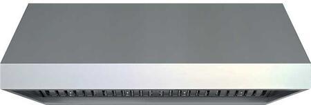 Zephyr AK7854BS 1200 CFM 54 Inch Wide Stainless Steel Outdoor Wall Mounted Range Hood, Stainless Steel