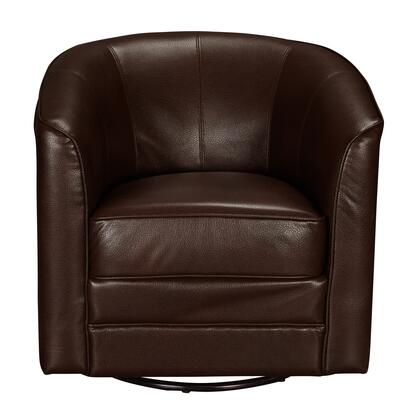 DSD153741615 Traditional Brown Swivel Accent Club In