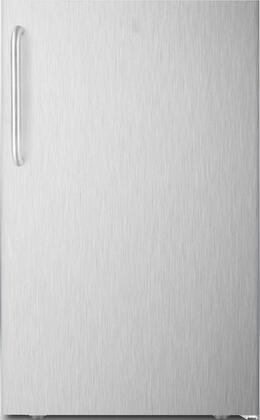 FS408BLXBISSTB 20 inch  Upright Freezer with 2.8 cu. ft. Capacity  Adjustable Thermostat  4 Pull Out Drawers and Manual Defrost  in Stainless