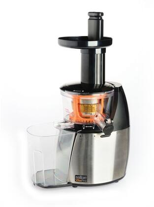 JE1372PL Low Speed Juicer and Smoothie Maker with Double Edged Auger and Superior Cold Press Technology in Stainless