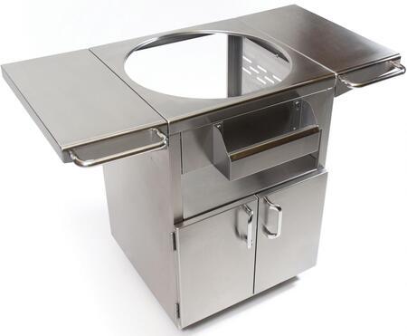 KJSST Brushed Stainless Steel Table for Classic Joe Ceramic