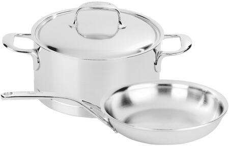 Demeyere 40850-655 Atlantis 3-Pc Stainless Steel Cookware Set