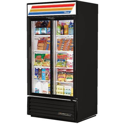 GDM-33-LD Refrigerator Merchandiser with 33 Cu. Ft. Capacity  LED Lighting  and Thermal Insulated Glass Swing-Door in