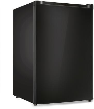 REF160R-44B 20 inch  Compact Refrigerator with 4.4 cu. ft. Capacity  Mechanical Control Adjustable Thermostat  Reversible Door  Door Storage and Can Dispenser  in