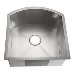 LI-3000 Lenola 20 1/2 inch  Single Bowl Undermount Kitchen Sink with Soundproofing System and Mounting Hardware in Stainless
