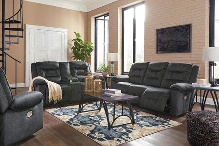 Waldheim Collection 81502-15-18-13 3-Piece Living Room Sets with Motion Sofa  Loveseat and Recliners in
