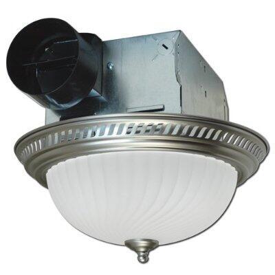 DRLC702 Decorative Round Fan/Light  70 CFM  4.0