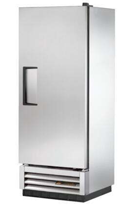 T-12F 25 inch  T-Series Reach-In Solid Swing Door Freezer with 12 cu. ft. Capacity  3 PVC Coated Shelves  Automatic Defrost  and Stainless Steel Front and Door  in