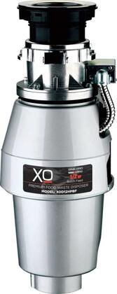 XOD12HPBF Food Waster Disposer with 1/2 HP  Batch Feed Operation  2500 RPM Hi-Torque Motor  Anti-Microbial Odor Protection  Stainless Steel Grind System and 3'