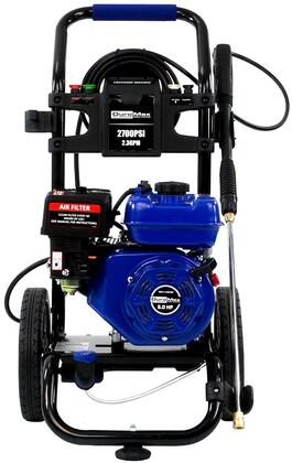 XP2700PWS 2700 PSI Gas Engine Turbo Nozzle Pressure Washer with 2.3 Gallons Per Minute Cleaning Power  Quick Change Connectors  Rear Hose Connection  Cushion
