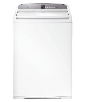 "WashSmart WA3927G1 27"""" Top Load Washer with 3.9 cu. ft. Capacity  1100 RPM Max Spin Speed  Eco-Active Wash and Flexible Finned Agitator in"" 550960"