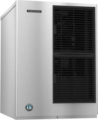 KM-650MAJ 22 inch  KM Edge Series Slim-Line Air Cooled Modular Ice Maker with 647 lbs. Daily Ice Production  H-GUARD Plus Antimicrobial Agent Protection  Crescent