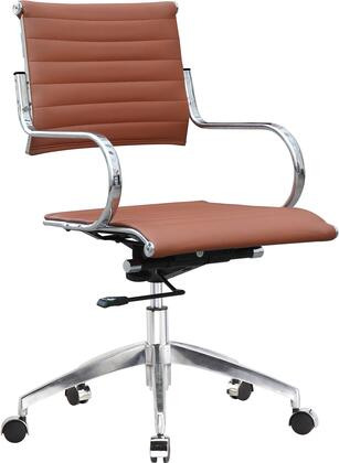 FMI10210-light brown Flees Office Chair High Back  Light