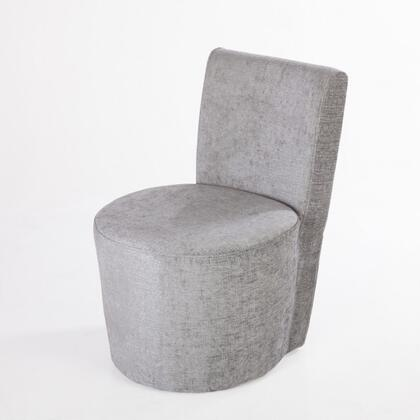 Callister FXC88058GREY Lounge Chair with Stitching Details  Ash Wood Frame and Fabric Upholstery in