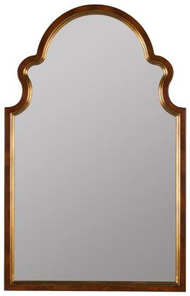 40853 Reon Mirror in Cherry and Gold