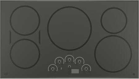 "CHP9536SJSS 36"" Built-in Induction Cooktop with Five Elements Glide Touch Controls Stainless Steel Clad Aluminum Griddle Keep-Warm Setting and Kitchen"