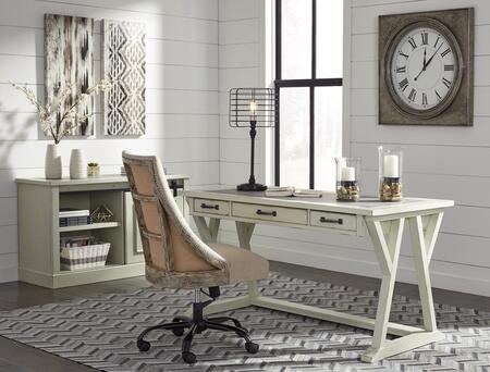 Jonileene Collection H642-DSKCABCH 3-Piece Home Office Set with 60