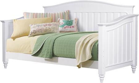 SummerTime Collection 8466-BR-K11 Twin Size Daybed with Turned Feet  Subtle Molding Details and Wood Construction in