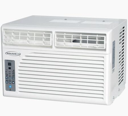WS110E01 Windowed Air Conditioner with 10200 BTU Cooling Power  Programmable Timer  Washable Filter  Adjustable Airflow  and Child Lock  in