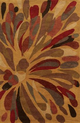 Bbdbd877100280203 Bradberry Downs Bd8771-2 X 3 Hand-tufted 100% Premium Blended Wool Rug In Gold  Rectangle