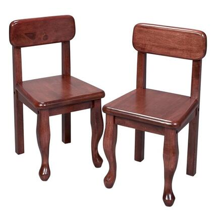 3003C Pair Of Queen Anne Classic Design Solid Wood Chairs in