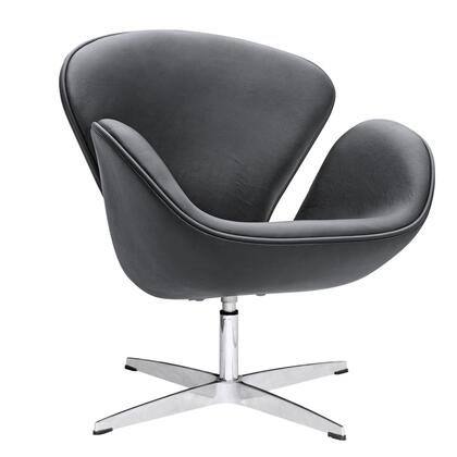 FMI1144-black Swan Chair Leather