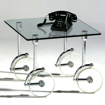 1105-LT 1105 Glass Caster Lamp