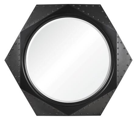 MT1618 36x31 Darnay Mirror with PU Frame in Distressed