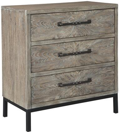 """Cartersboro_Collection_A4000195_33.38""""_Accent_Chest_with_3_Drawers__Rectangular_Shape__Metal_Drawer_Pulls_and_Legs__Wood__Engineered_Wood_and_Veneer"""
