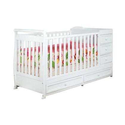 661W Athena Daphne 2-in-1 Crib and Changer Combo in