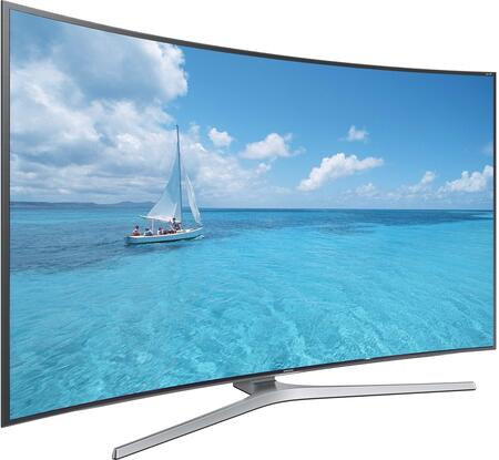 "UN65JS9000FXZA 65"" (64.5"" Diag.) JS9000 Series 4K SUHD Curved Smart TV with Octa-Core Processor  Auto Depth Enhancer  Smart View 2.0  One Connect Box and Smart"