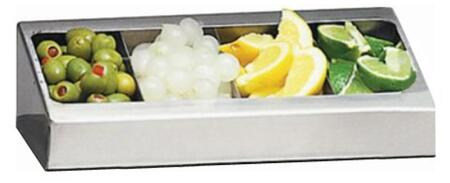 ADCT Condiment Tray Accessory For Alfresco Bartending Centers in Stainless
