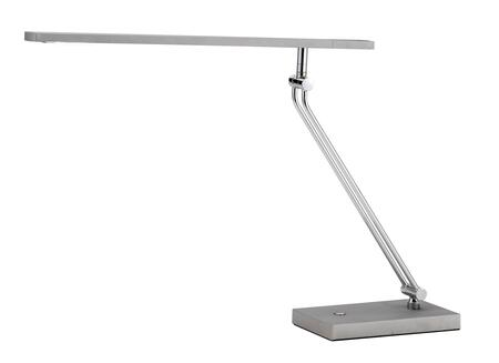3392-22 Saber Led Desk Lamp  Painted Steel with Chrome Accents