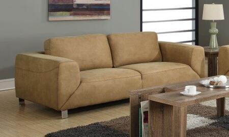 I 8513tn Sofa Tan / Chocolate Brown Contrast