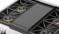 FMGRID30 Heavy Duty Enamelled Cast-Iron Griddle for 30 inch  Ranges or