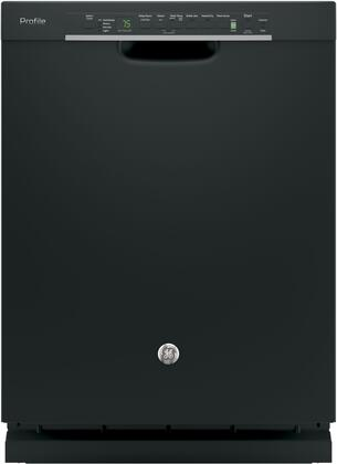 "GE Profile Series 24"" Built-In Dishwasher Black PDF820SGJBB"