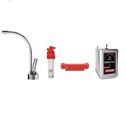 LB9200C-100-HT Faucet Set with LB9200C Hot & Filtered Cold Water Dispenser  FRCNSTR100 Filter Canister  FM100 Filter Module Meter and HT300 Little Butler