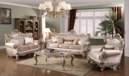 Emily Collection EMILYLIVINGROOMSET 5-Piece Living Room Set with Sofa  Loveseat  Chair  Coffee Table and End Table in