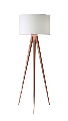 6424-20 Director Floor Lamp  Brushed Copper